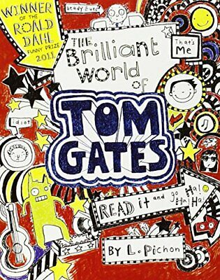 The Brilliant World of Tom Gates by Pichon, Liz Paperback Book The Cheap Fast