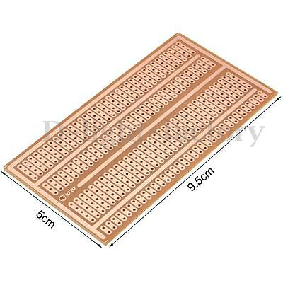 Single Side PCB Universal Prototype Printed Circuit Board Stripboard 5x10CM