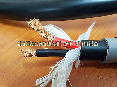 USA M Audio 6N Copper Silver Wire DIY HIFI Speaker Cable High Performance