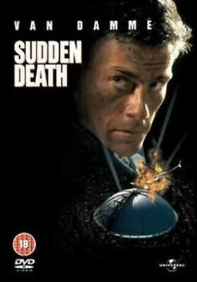 Sudden Death DVD (2009) Jean-Claude Van Damme, Hyams (DIR) cert 18 Amazing Value