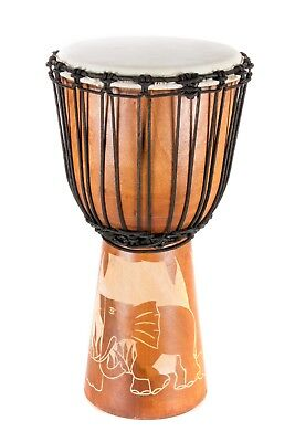 30cm Professional  Djembe Drum Bongo Wood Elephant Good Sound Gurantee