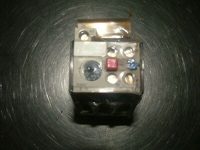 Siemens 3UA50 00-1A 1-1,6A Thermal Overload Relay