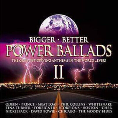 Various Artists : Bigger, Better Power Ballads CD (2004)