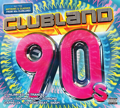 Various Artists : Clubland 90s CD (2013)