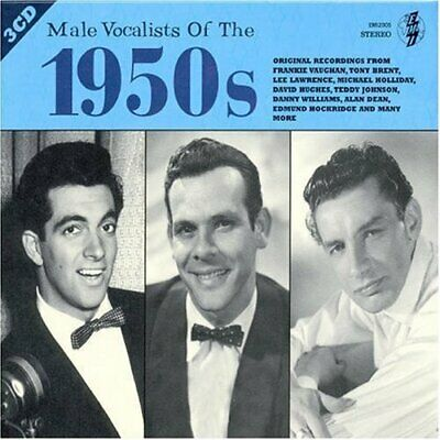 Male Pop Vocalists of the 1950s CD 3 discs (2005) Expertly Refurbished Product