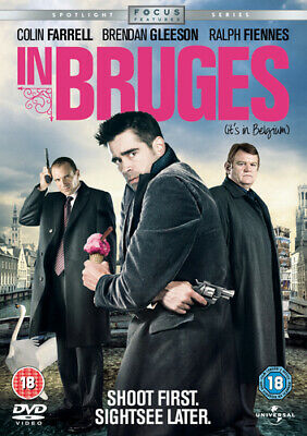 In Bruges DVD (2008) Colin Farrell, McDonagh (DIR) cert 18 Fast and FREE P & P