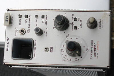 Tektronix 7A11 Amplifier Plug-In with 200V Probe