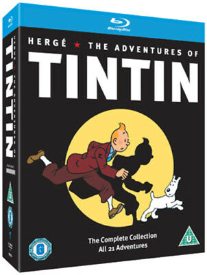 The Adventures of Tintin: Complete Collection Blu-ray (2011) Stéphane
