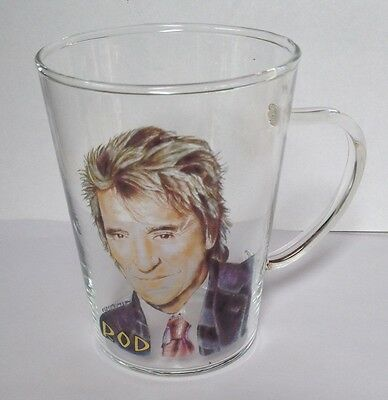 Rod Stewart Glass Coffee Mug