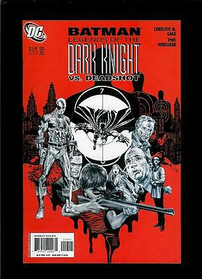 Batman Legends Of The Dark Knight # 214 (VF / NM) Flat Rate Combined Shipping!