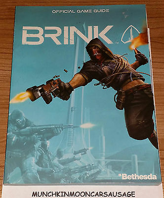 Brink Prima Official Strategy Guide New for Sony PS3 Microsoft XBox 360 Bethesda