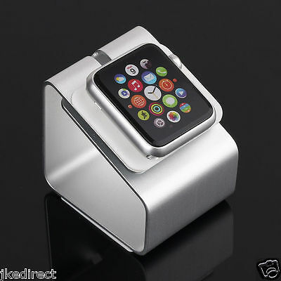 Metal Aluminum Desktop Mount Stand Holder Dock Charging Station For Apple Watch