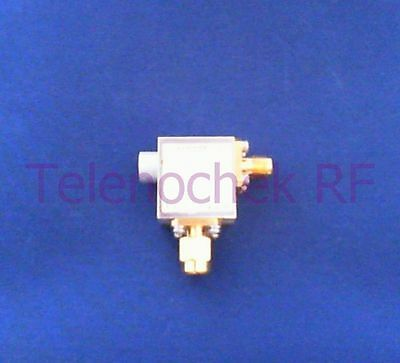 RF microwave single junction isolator 4000 MHz - 8000 MHz / 10 Watt / data