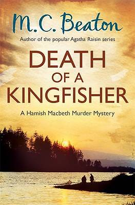 Death of a Kingfisher by M. C. Beaton (Paperback) New Book