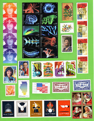 2018 Commemorative Year Set (Ready to mount / Clear Perforations) MNH- VF