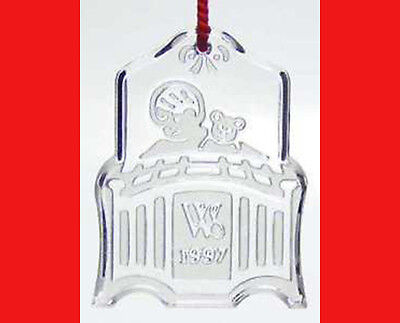 Waterford Society All Snug in Their Beds Ornament 1997
