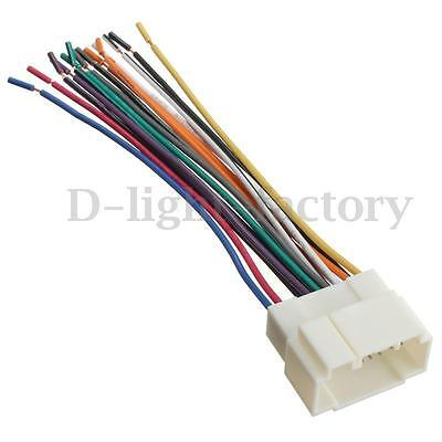 Stereo Cd Player Wiring Harness Wire Cable For Honda Suzuki Acura Radio Install