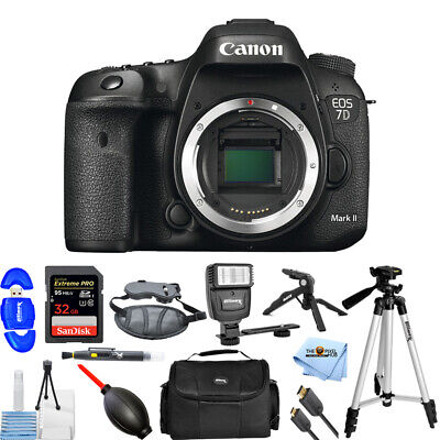 Canon EOS 7D Mark II DSLR Camera (Body Only) PRO BUNDLE BRAND NEW