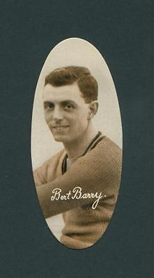 Sculling Rowing Bert Barry Vintage Original 1930S Real Photo Cig Card