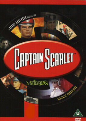 Captain Scarlet and the Mysterons: The Complete Series DVD (2001) Desmond