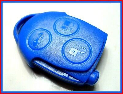 NEW 3 BUTTON BLUE KEY FOB REMOTE for FORD TRANSIT MK7, 433Mhz, 4D63