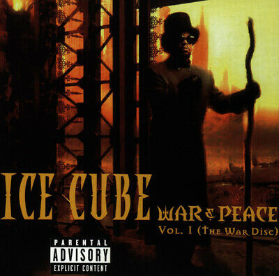Ice Cube : War & Peace: The War Disc - Volume 1 CD (1998) ***NEW*** Great Value