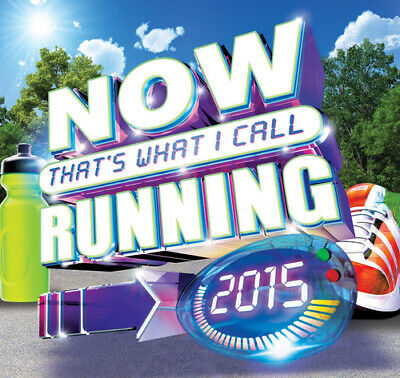 Various Artists : Now That's What I Call Running CD 3 discs (2015) Amazing Value