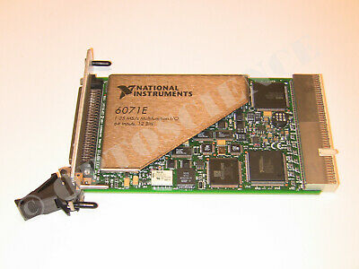National Instruments PXI-6071E NI DAQ Card Multifunction 1.25MS/sec Analog Input