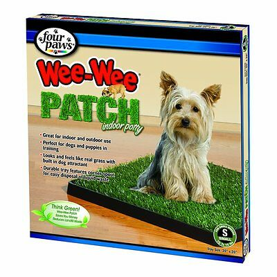 Four Paws Wee-Wee Patch Small Indoor Potty Dog Housebreaking Tray by Four Paws
