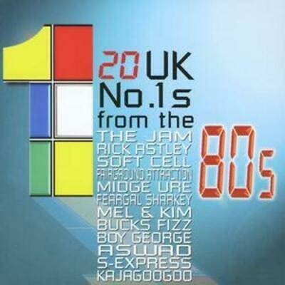 Various : 20 Uk No.1's from the 80's CD (2003) Expertly Refurbished Product