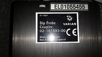 Varian Dip Probe Coupler 02-101593-00 Fedex Shipping