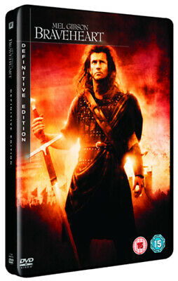 Braveheart DVD (2007) Mel Gibson cert 15 2 discs Expertly Refurbished Product