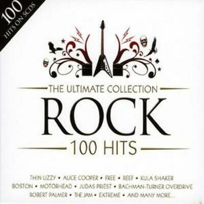 Various Artists : The Ultimate Collection - Rock: 100 Hits CD (2008)