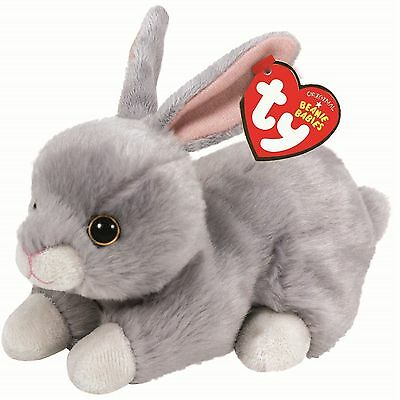 Ty Beanie Babies 41700 Nibbler the Grey Rabbit