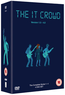 The IT Crowd - Complete Series 1-4 Box Set  DVD