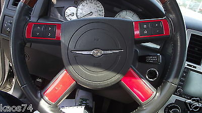 FITS Dodge Challenger Steering Wheel Accent Decal Overlays 08 09 2010