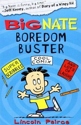 Big Nate Boredom Buster 1 (Big Nate) by Peirce, Lincoln Paperback Book
