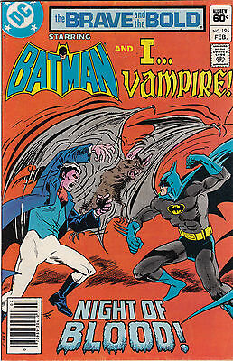 DC Comics! Brave and the Bold! Issue 195!