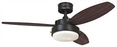 Westinghouse 7201900 - Alloy 42-Inch Reversible Three-Blade Indoor Ceiling Fan