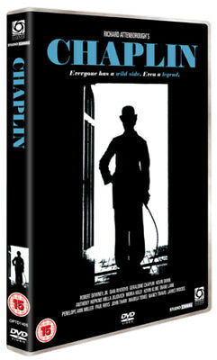 Chaplin DVD (2008) Robert Downey Jr, Attenborough (DIR) cert 15 Amazing Value