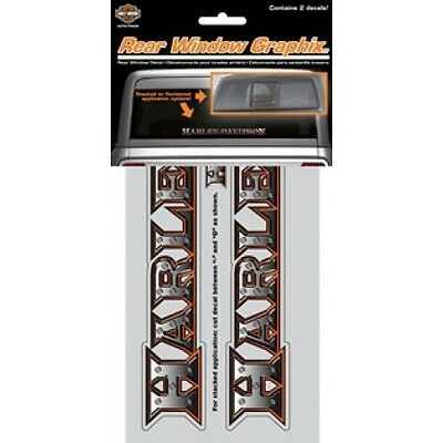 Harley-Davidson Rear Window Graphics Decal