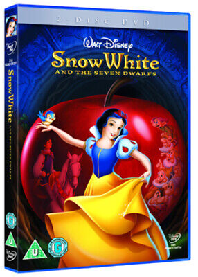 Snow White and the Seven Dwarfs (Disney) DVD (2009) Perce Pearce cert U 2 discs