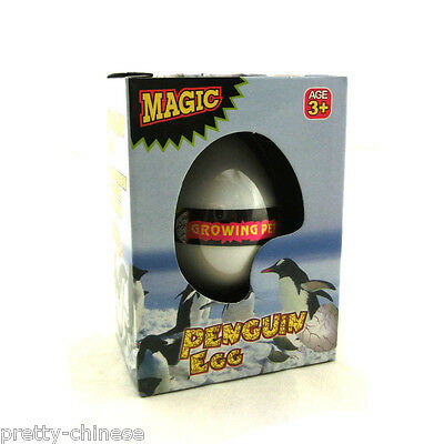 Magic Hatching Growing In Water Egg Toys Children Kids Gift Toy - Penguin Egg