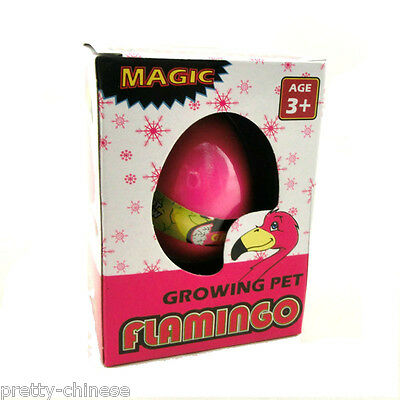 Magic Hatching Growing In Water Egg Toys Children Kids Gift Toy - Flamingo Egg