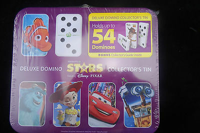Disney Dominoes Collector's Tin - Holds 54 Dominoes - See Pictures - Free Post