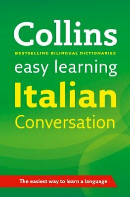 Easy Learning Italian Conversation (Collins... by Collins Dictionaries Paperback