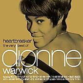 Heartbreaker: the very best of dionne warwick CD (2002) FREE Shipping, Save £s
