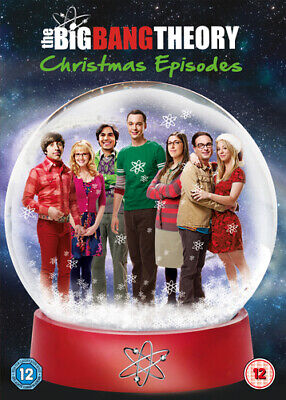The Big Bang Theory: Christmas Episodes DVD (2013) Johnny Galecki cert 12