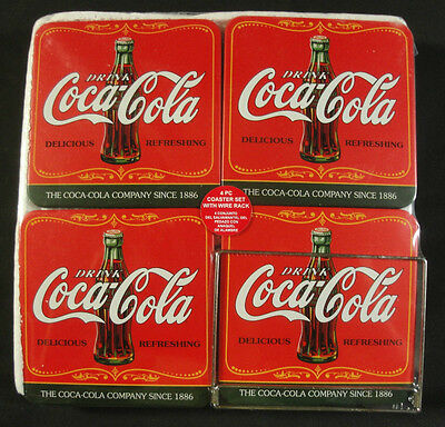 Coca Cola Coaster Set - New !!