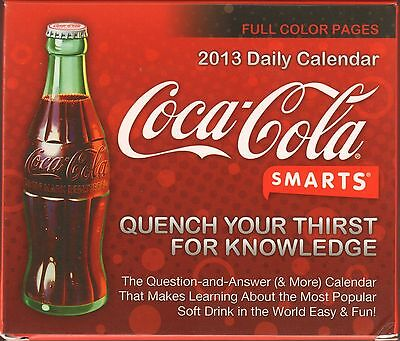Coca Cola Coke - 2013 Boxed Calendar - New !!